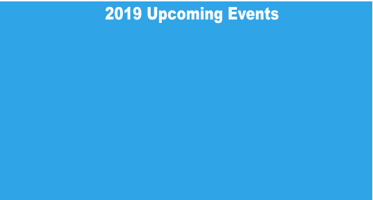 2019 Upcoming Events